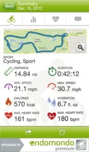 Endomondo Sports Tracker Screenshot3