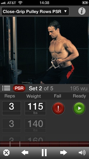 Gain Fitness Cross Trainer Screenshot