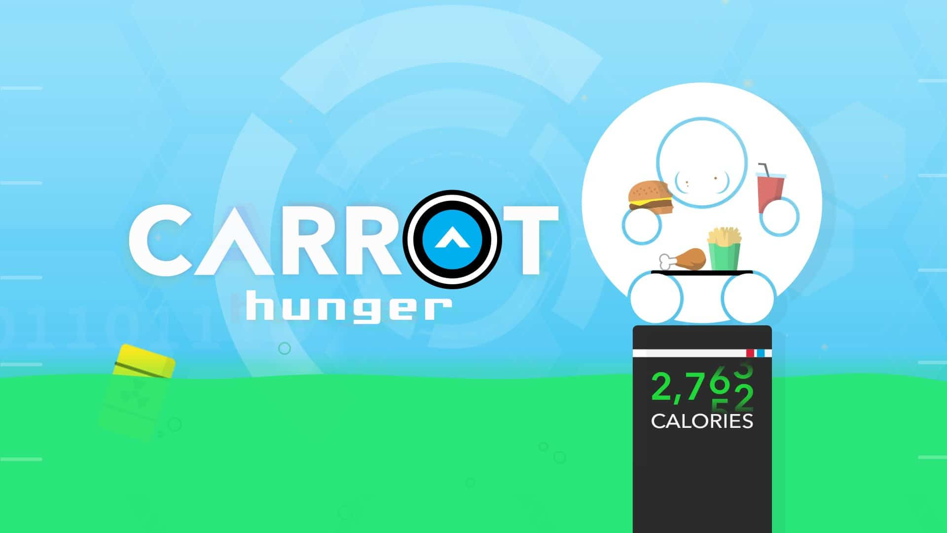 CARROT Hunger - Talking Calorie Counter