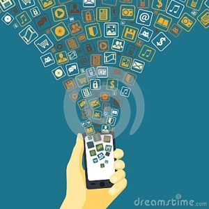 mobile-applications-funnel-linked-to-smart-phone-hand-concept-vector-illustration-36937762